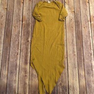 Kate Quinn tan nightgown